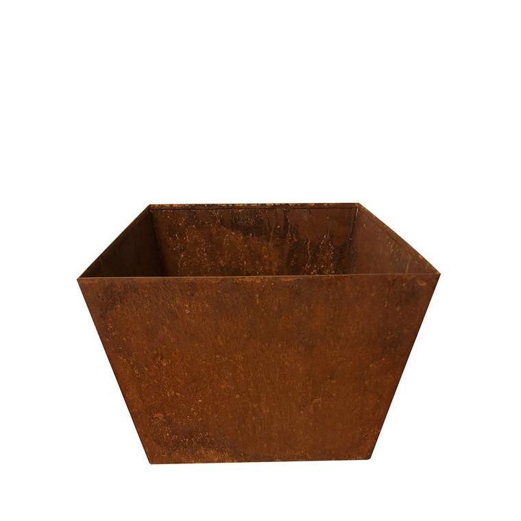 GARDENLIFE Plantekasse rust look