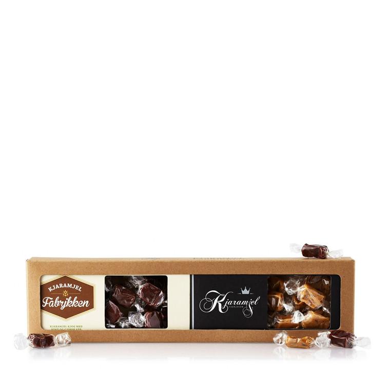 PR CHOKOLADE Karamel m/lakrids og mint/chokolade