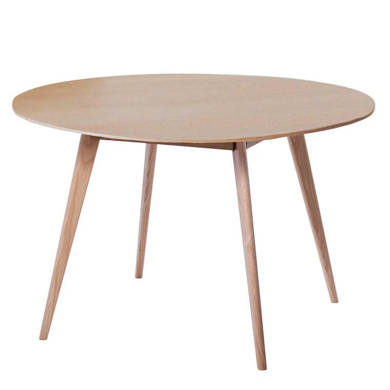 BLOOM spisebord egetræ Ø 120 cm