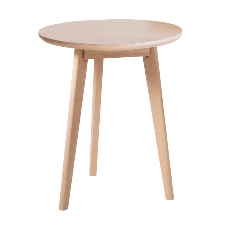 BLOOM cafébord egetræ Ø 60 cm