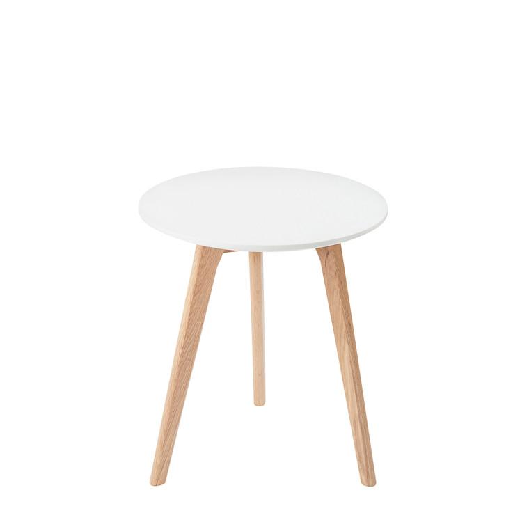 BLOOM sidebord hvid Ø 45 cm