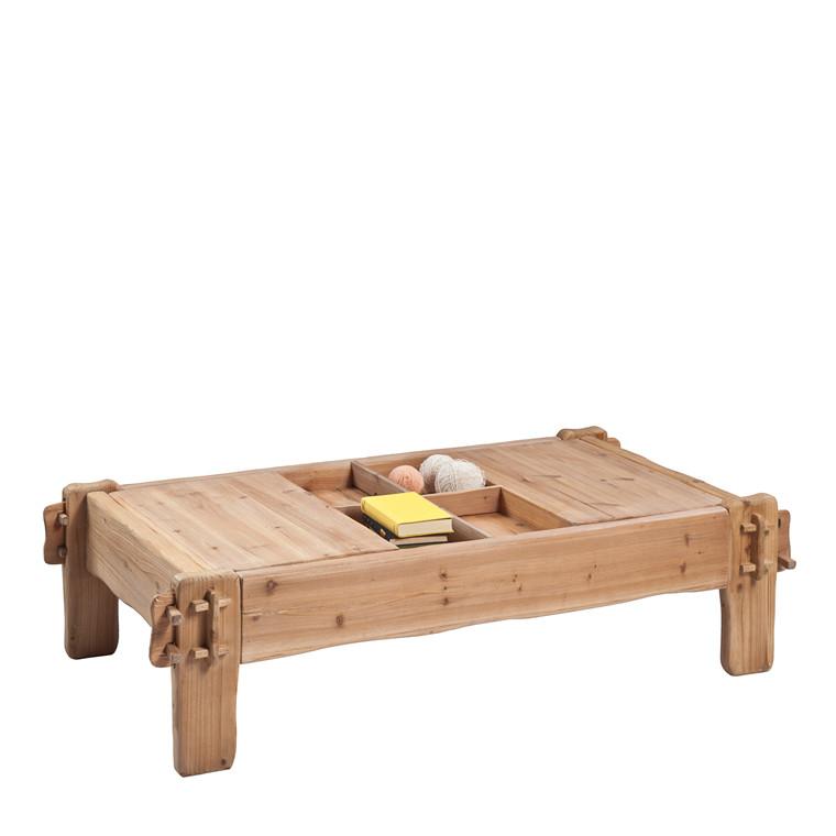 SAFI sofabord fyrretræ L 148 x B 79 cm
