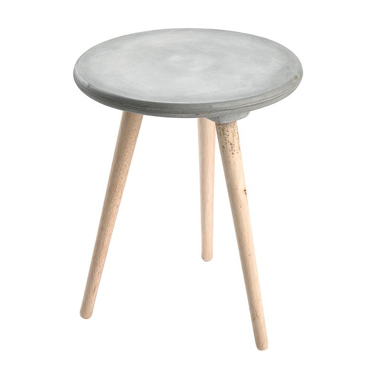 EARTH sidebord i beton - kan kun købes i butikkerne  Ø 45 cm