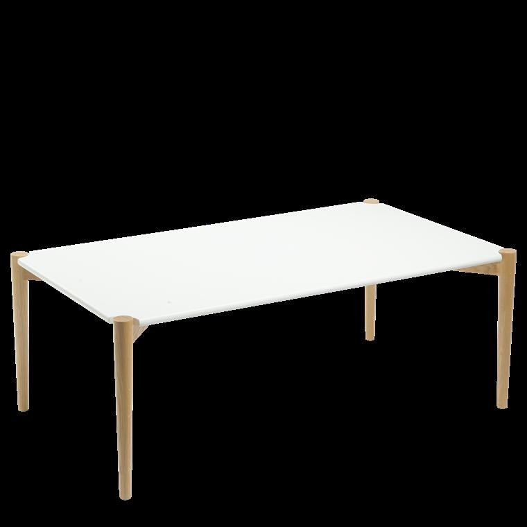 HANNAH sofabord hvid L 120 x B 70 cm