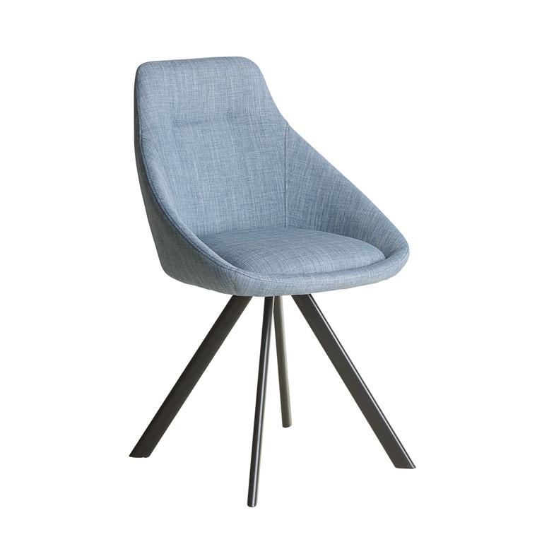 VIGGA spisebordsstol blå
