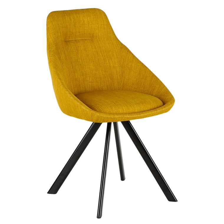 VIGGA spisebordsstol gul