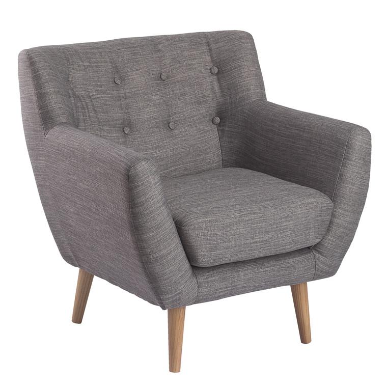 MIAMI loungestol grå
