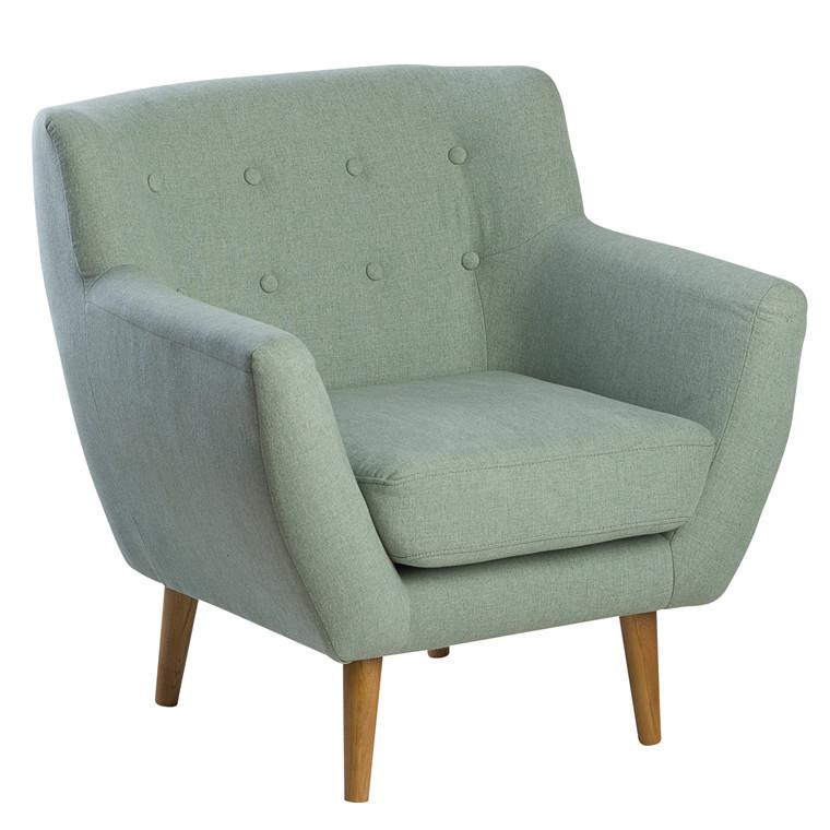 MIAMI loungestol støvet grøn