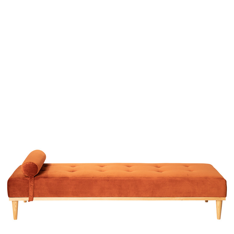 GEORGIA daybed velour rust
