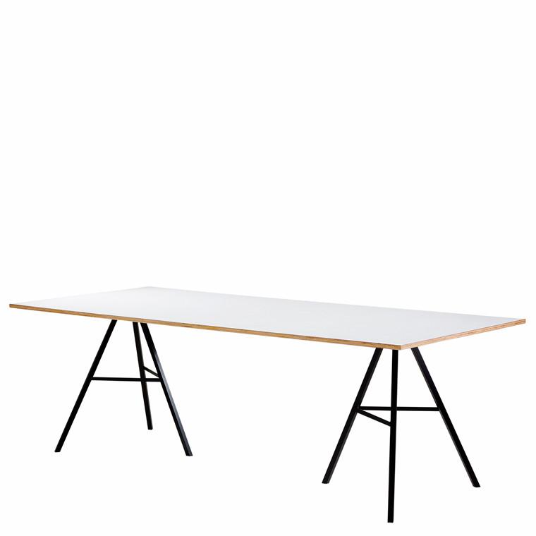 LIAM spisebord 200 x 90 cm hvid