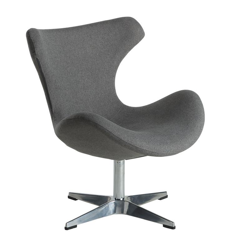 Kato loungestol grå stof