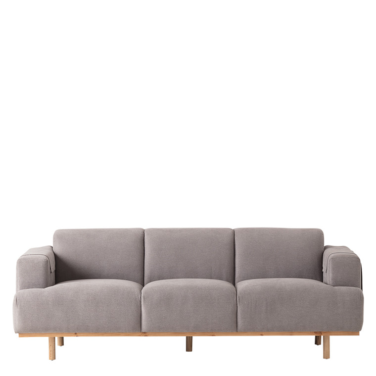 TOKYO 3 pers. sofa lys grå