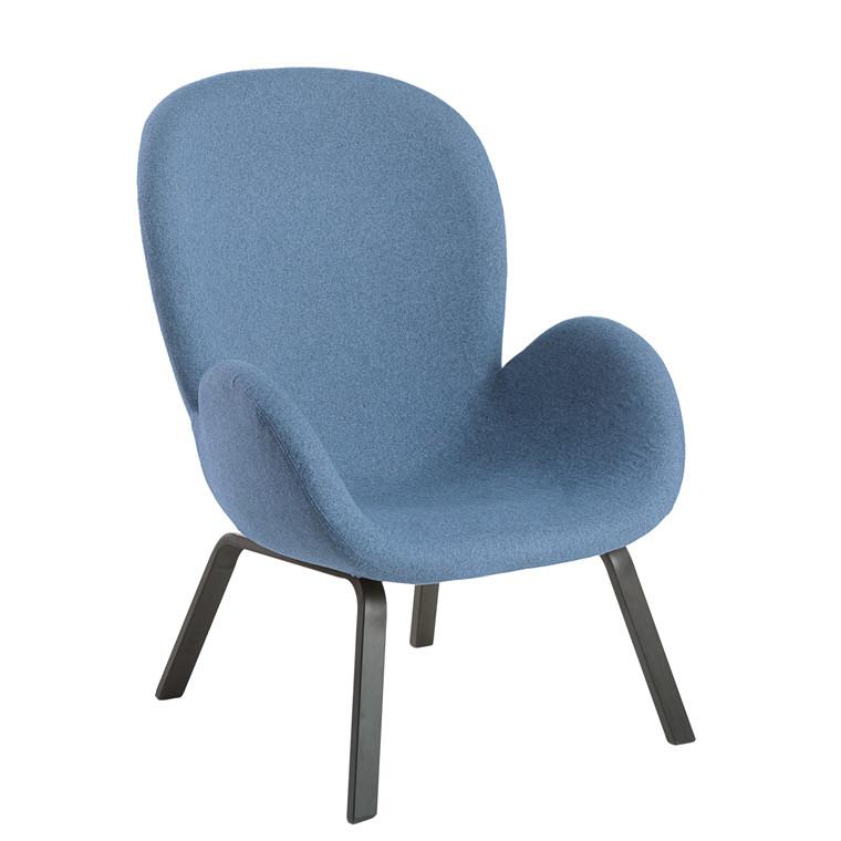 VEGA loungestol blå
