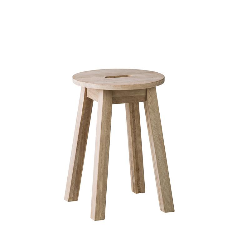 Wood taburet
