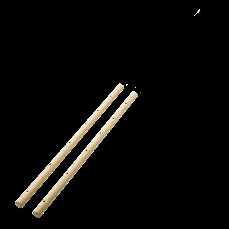 WOOD reolstøtte 100 cm