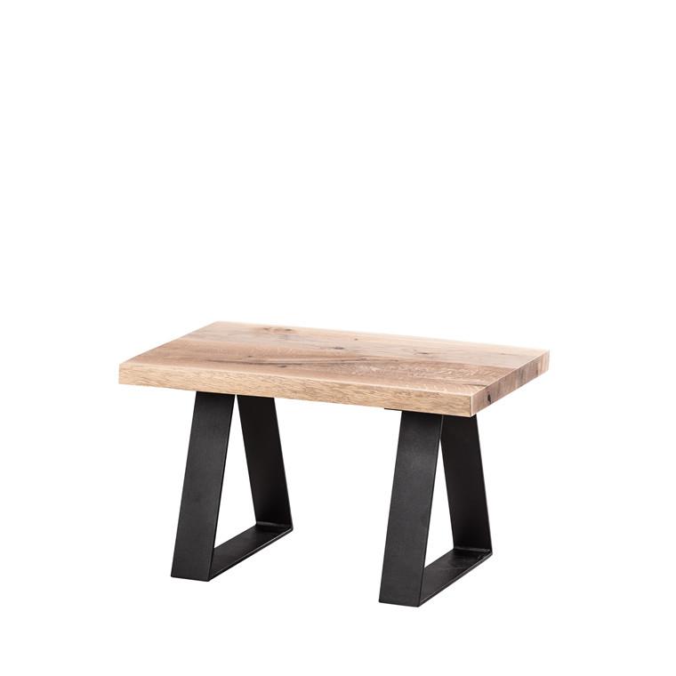WOODLAND mini planke side-/ sofabord natural 70x45xH40cm