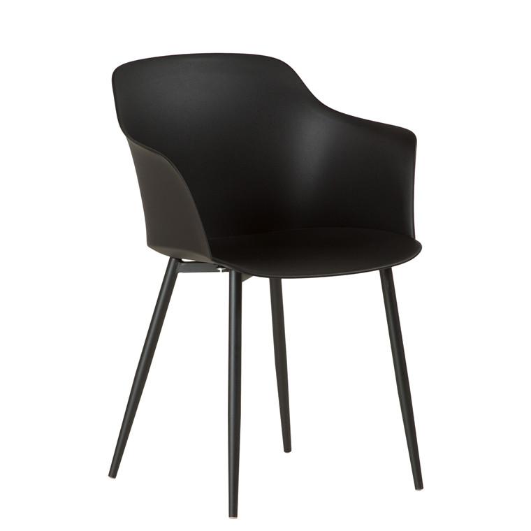 ELLIPSE spisebordsstol sort // På lager i uge 51