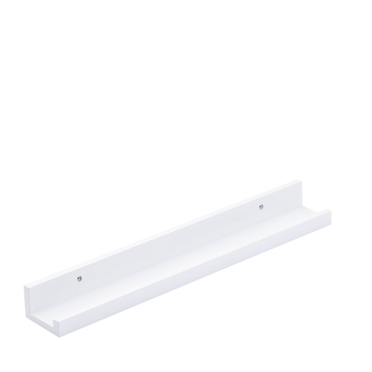 WOOD gallerihylde hvid 60 cm