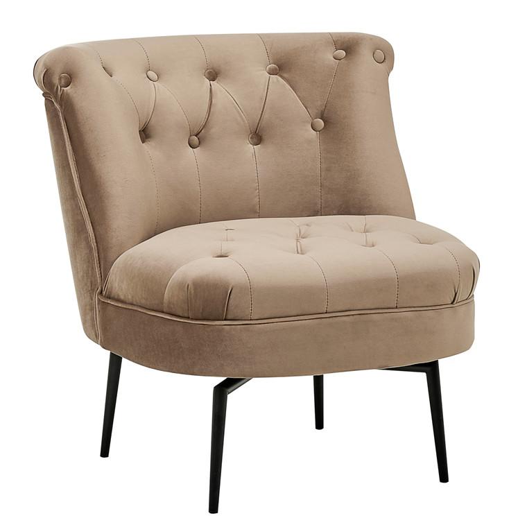 VICTORIA drejbar loungestol brun