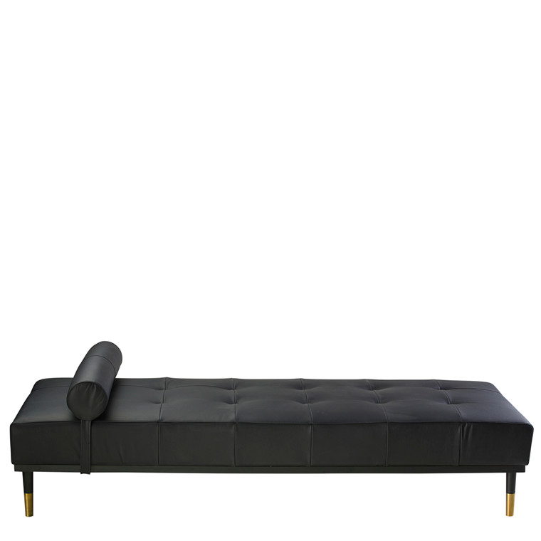 GEORGIA II daybed læder sort