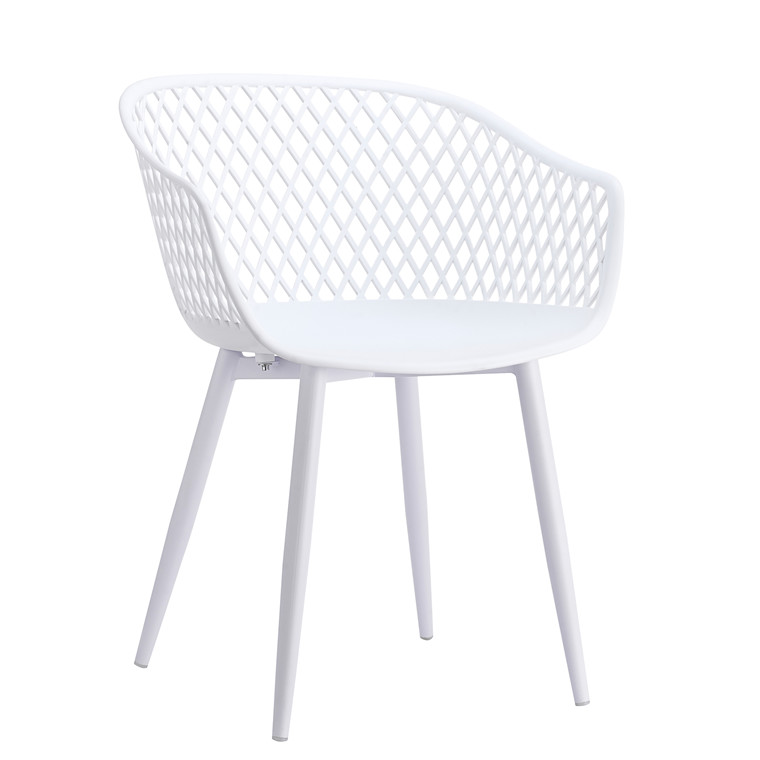 MESH spisebordsstol hvid