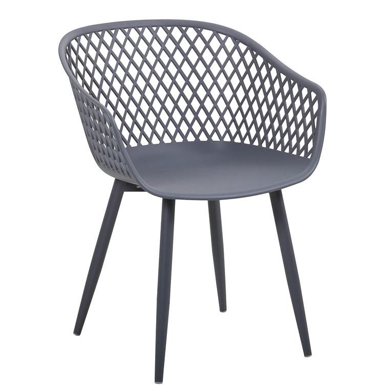MESH spisebordsstol grå