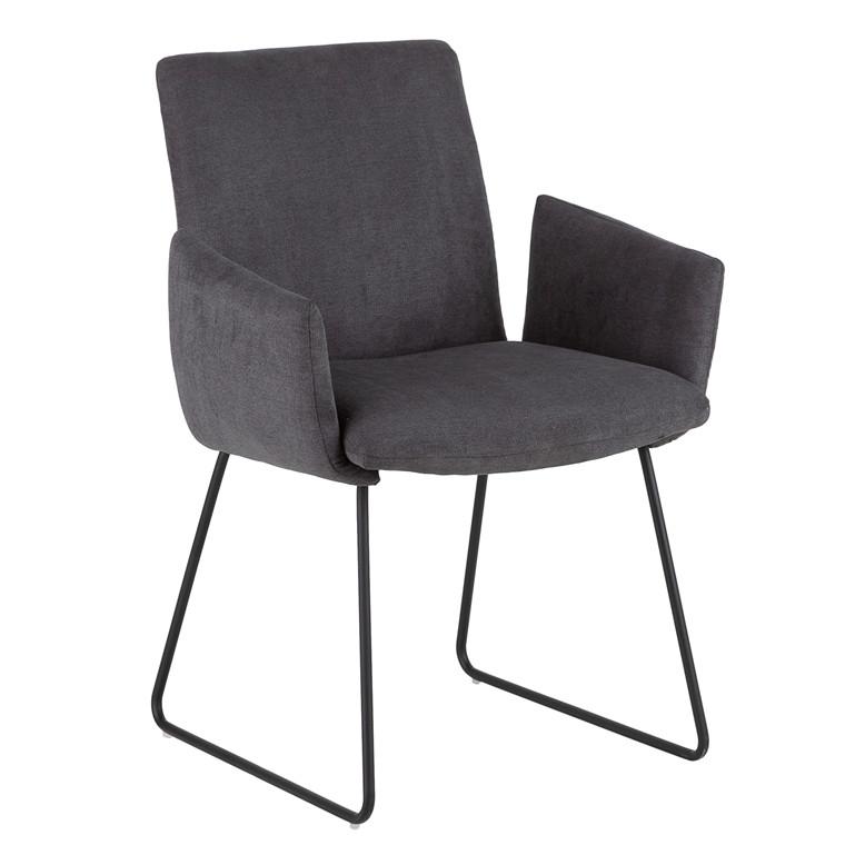 YAGO spisebordsstol grå