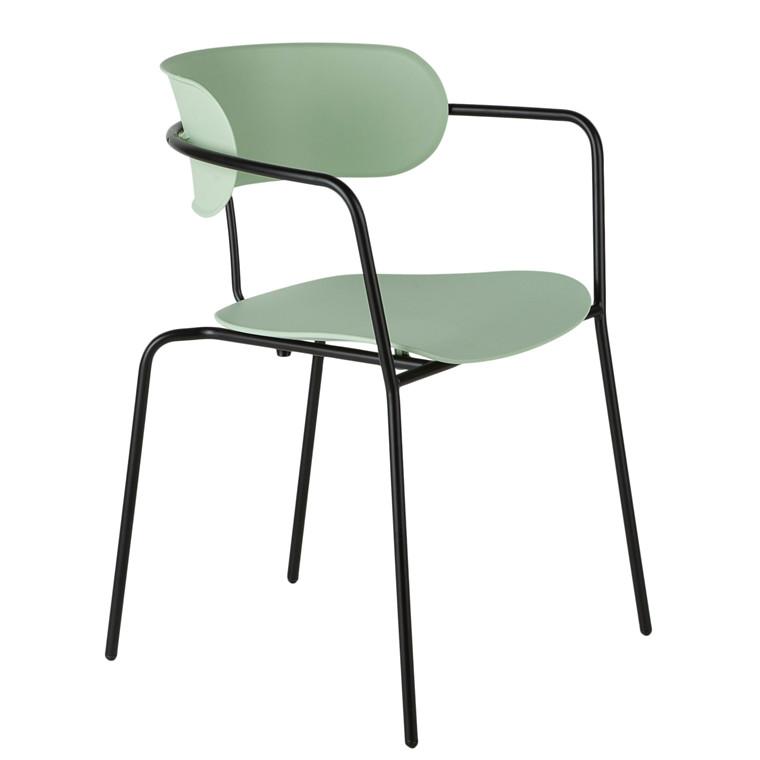 OWIN spisebordsstol i grøn