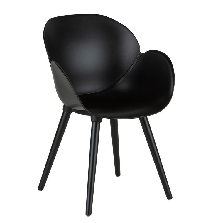 CODI spisebordsstol i sort