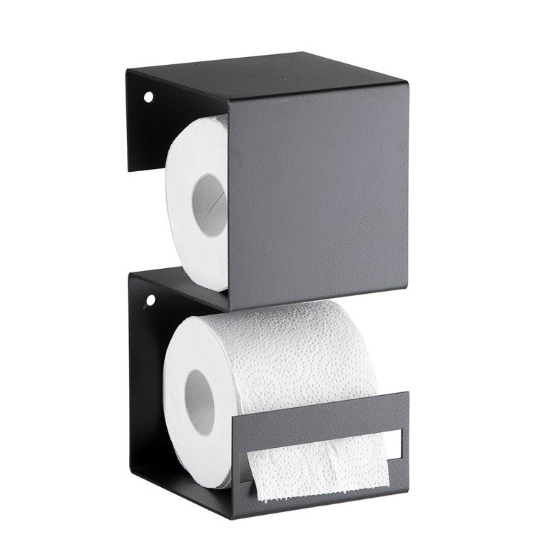 SHAPE IT toiletrulleholder sort