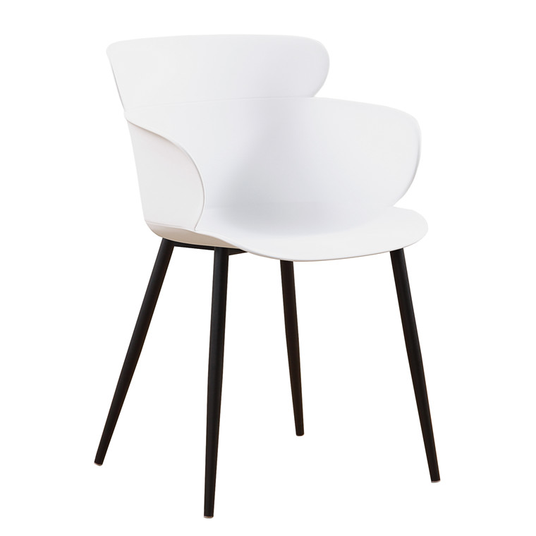 GABRIEL plast stol hvid