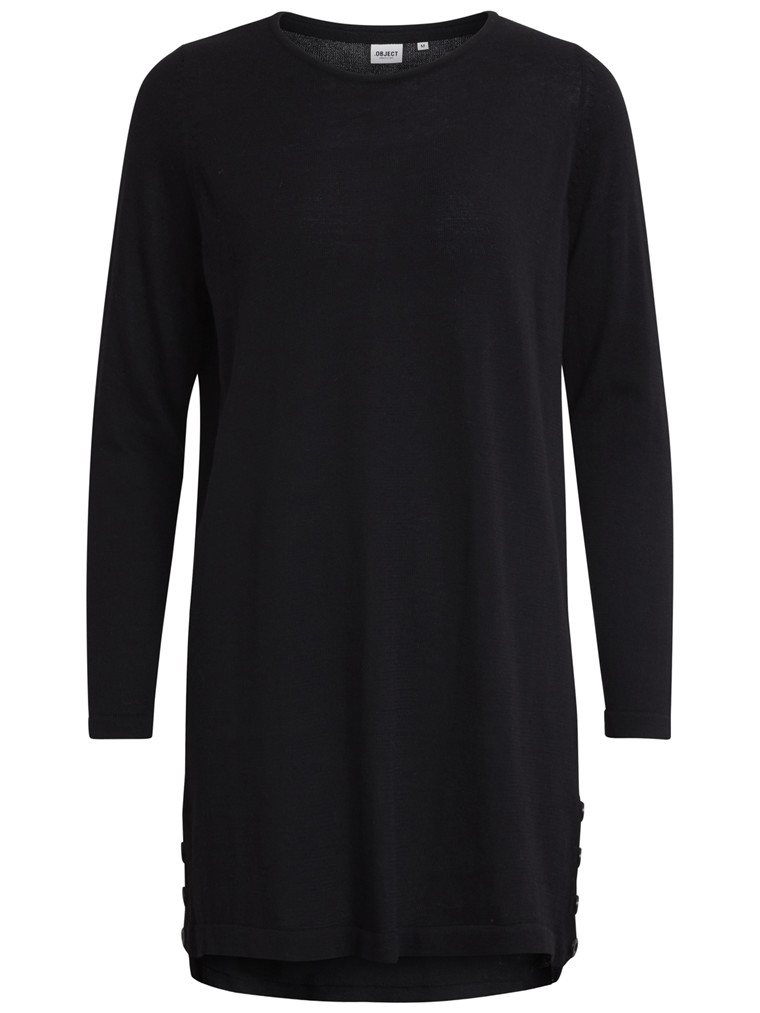 OBJECT Anna light knit tunic sort
