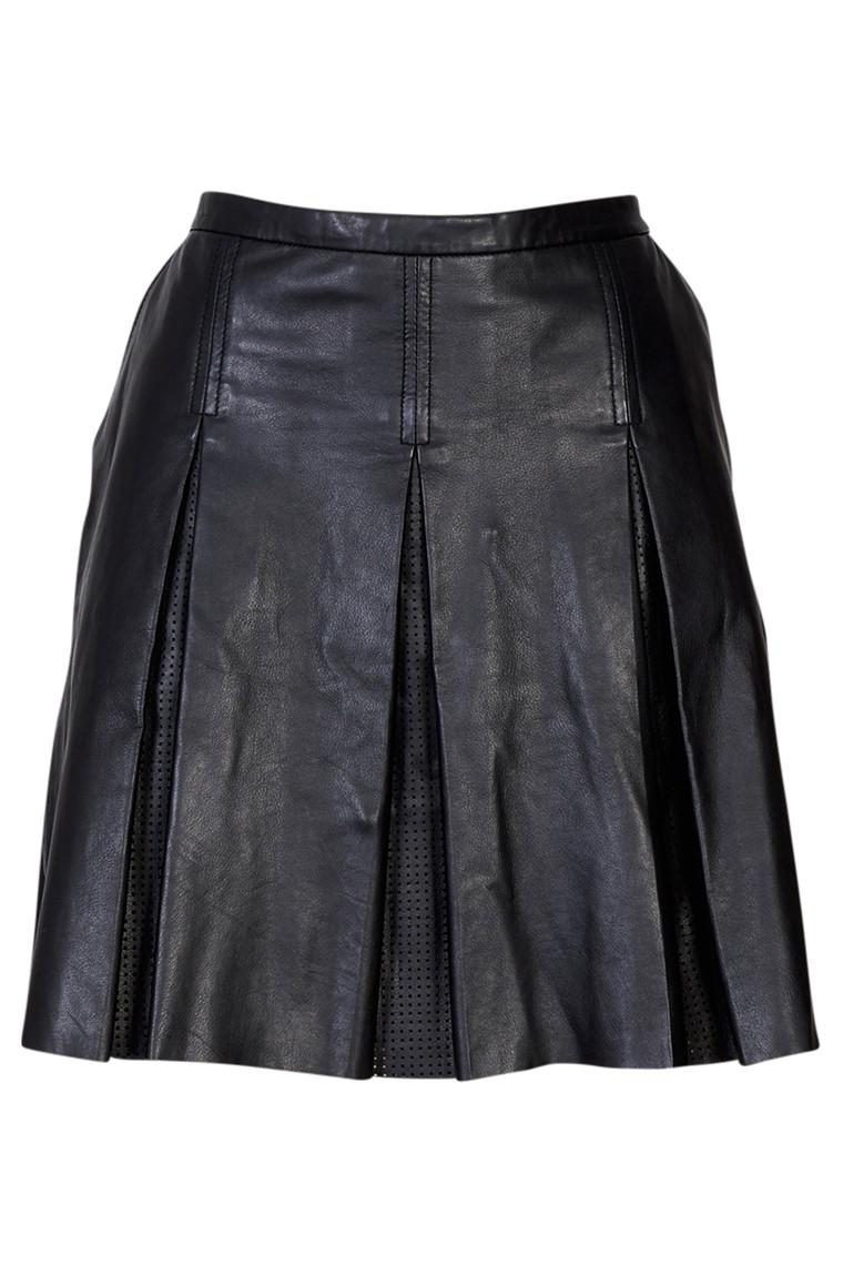 CRÉTON Adia skind nederdel