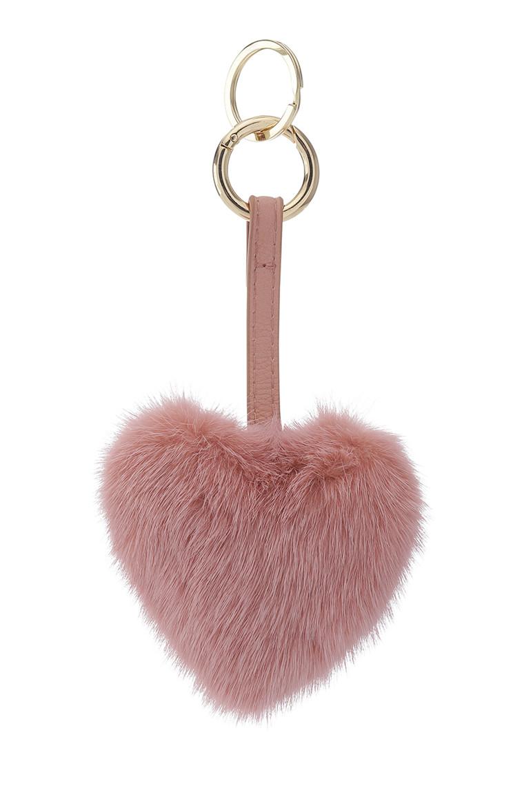 CRÉTON Heart mink fur