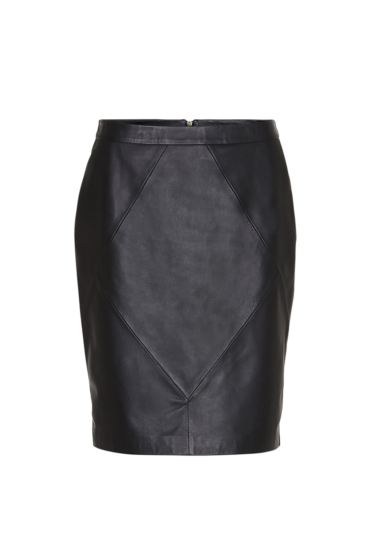 CRÉTON Mandie skind nederdel