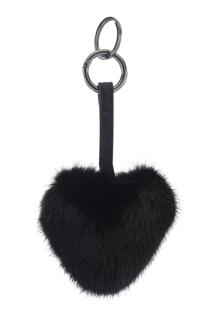 CRÉTON Heart mink nøglering