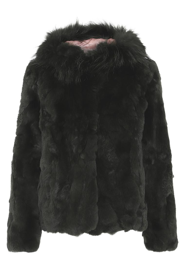 CRÉTON Enyana rexrabbit jakke