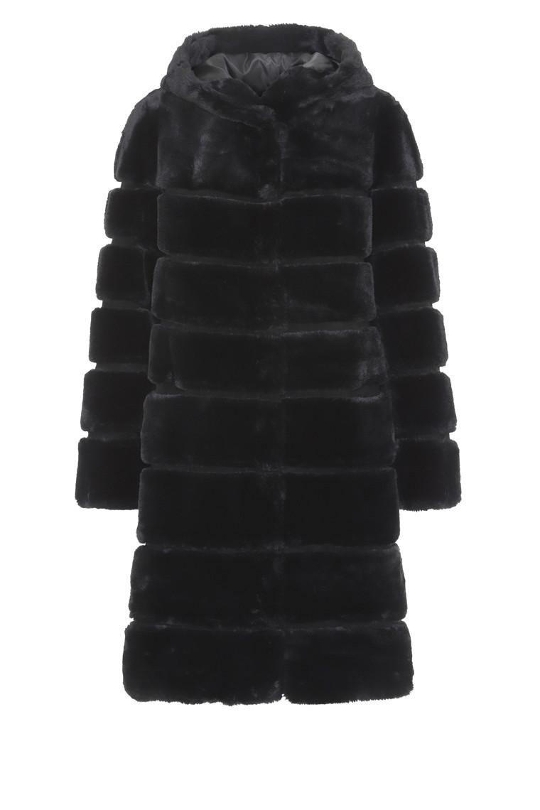 CRÉTON Maglyn fake fur frakke