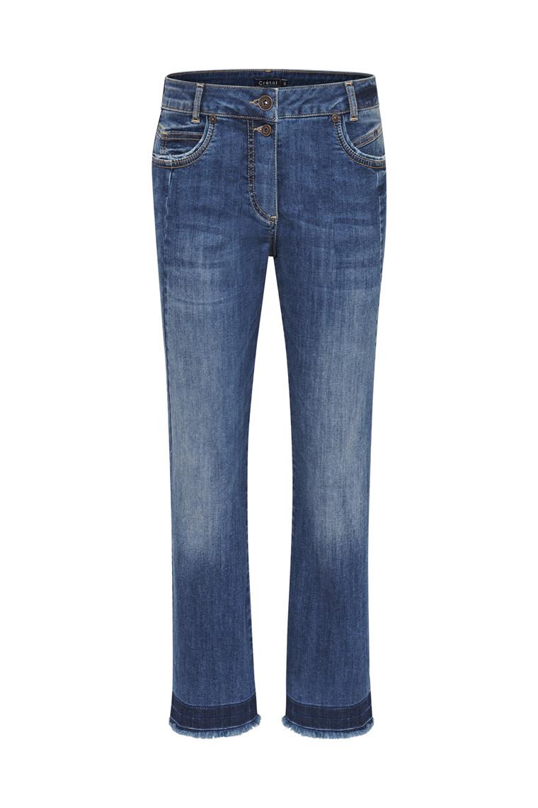 CRÉTON Amie cropped jeans