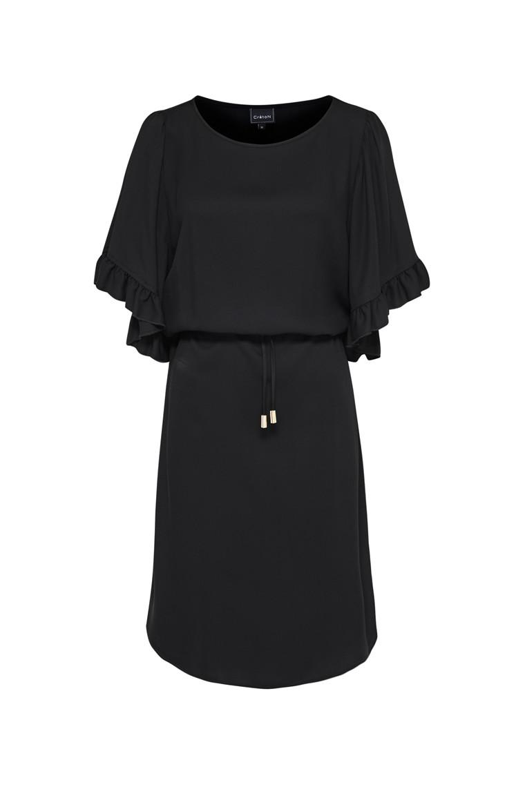 CRÉTON Raffle kjole