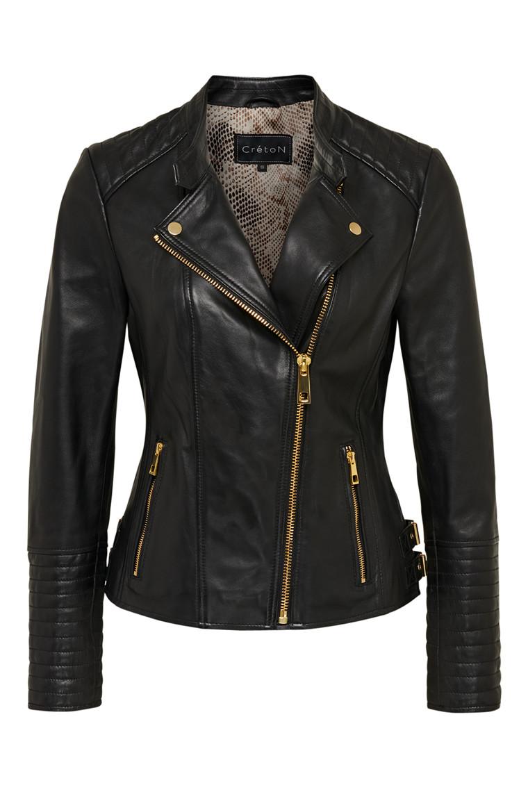 CRÉTON Lina skind jakke