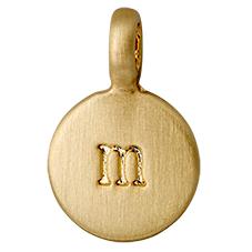 "PILGRIM Pendants ""M"" guld"