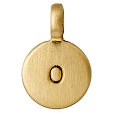 "PILGRIM Pendants ""O"" guld"