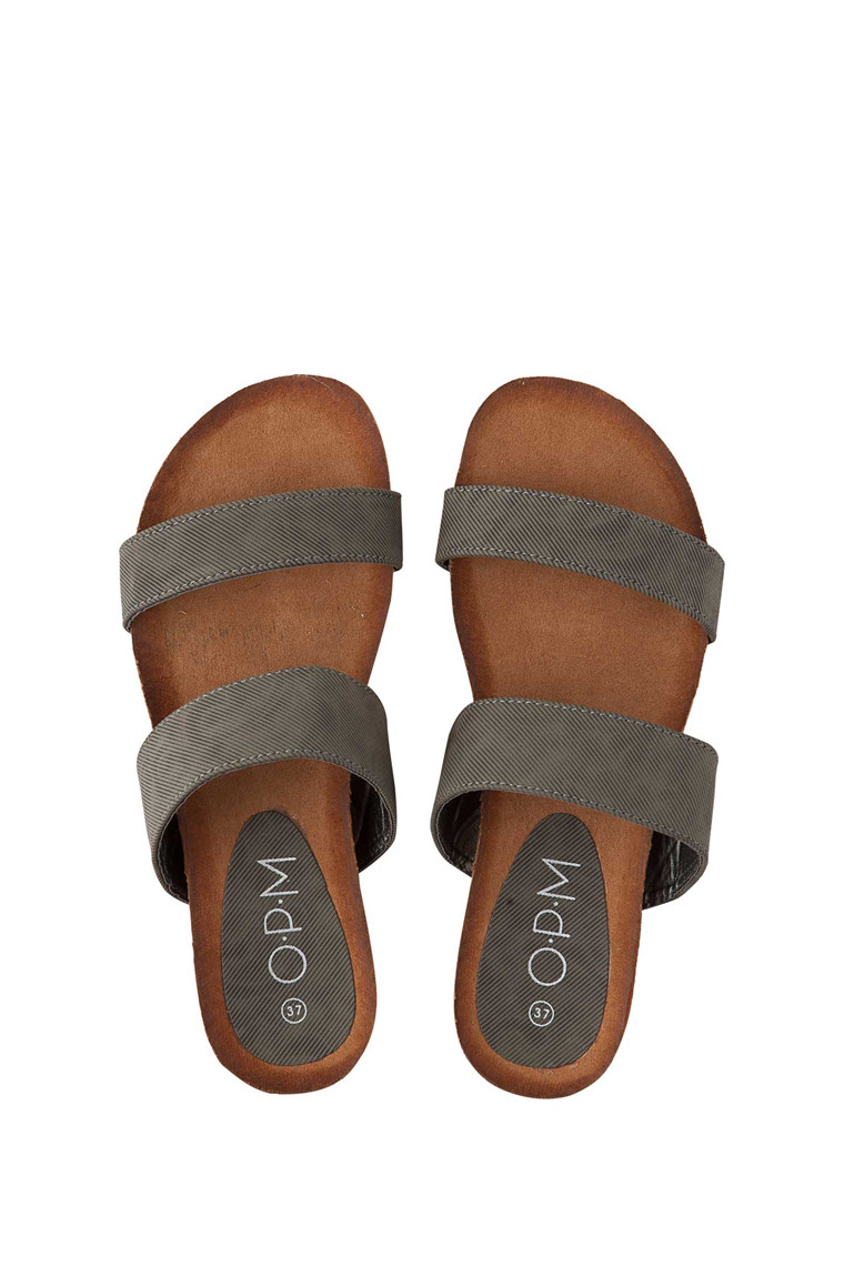 OPM Flow canvas sandal