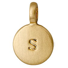 "PILGRIM Pendants ""S"" guld"