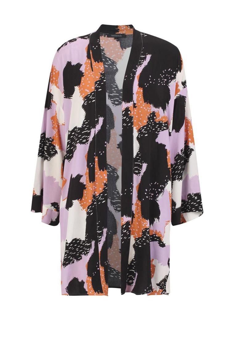 SOFT REBELS Touch kimono