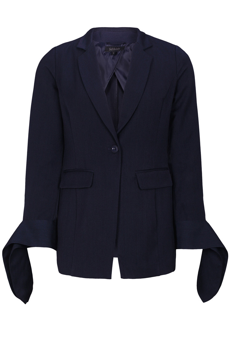 SOFT REBELS Tie Blazer
