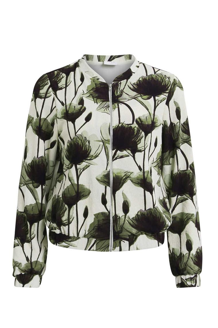 VILA Yasmina bomber jacket grøn
