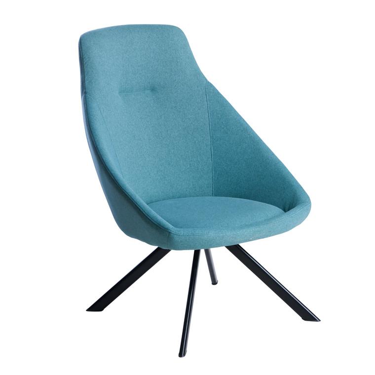 VIGGA loungestol blå