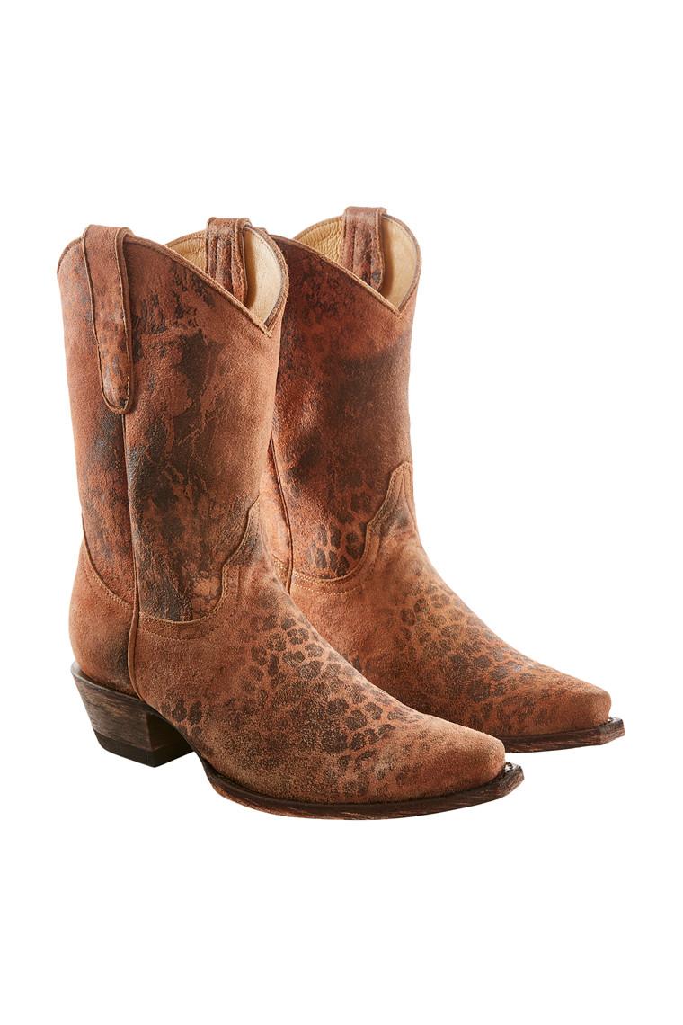 OLD GRINGO Lepardito cowboy støvle